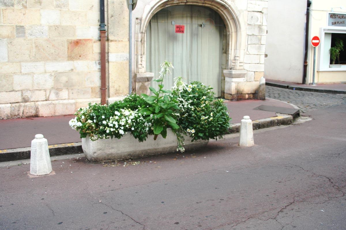 Bac A Fleur Grande Taille auge, bac à fleur, jardinière rectangulaire en pierre