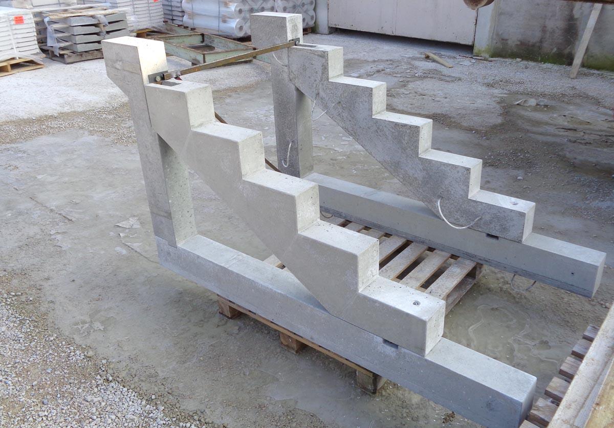 Cremaillere Prefabriquee En Beton Arme Pour Escalier Marches Pleines Www Pierre Alentour Fr