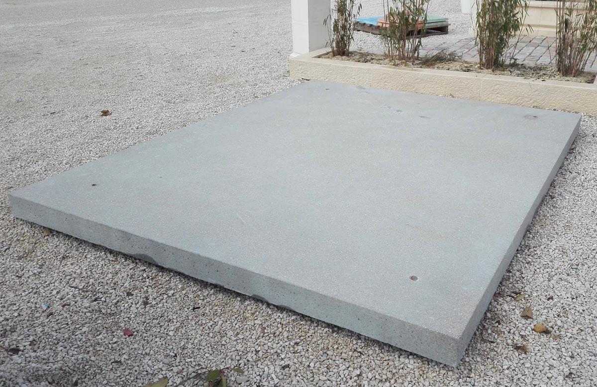 Dalle Beton Desactive Grand Format Dalle Geante 240 X 398 Cm
