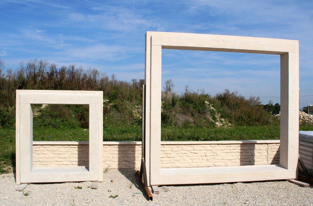 Encadrement b ton monobloc pour porte fen tre et porte d entr e cisel bouchard - Habillage de porte d entree ...