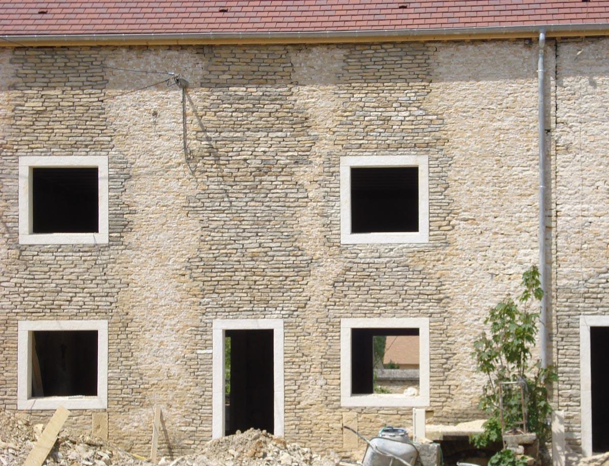 Encadrement De Fenetre Facade encadrement fenêtre préfabriqué en béton, monobloc, ciselé