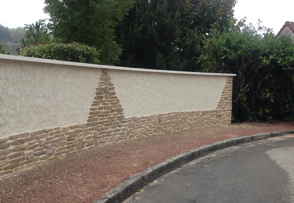 Revetement Mur Exterieur Pierre plaquette de parement pierre murale - www.pierre-alentour.fr