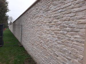 Plaquettes de parement extérieur en pierre reconstituée, petit modèle, revêtement de mur.