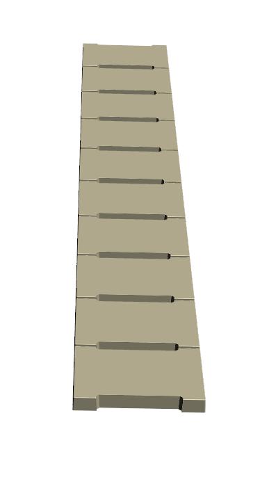 E.1-Caniveau 26x35x4 Ens