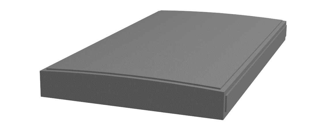 K.11-Couvertine bombée 108x60x10