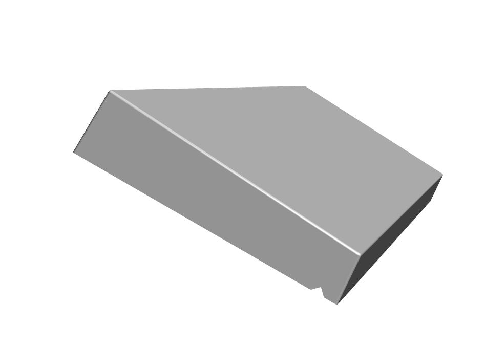 K.2-Couvertine 1 pente 5-7x31x100