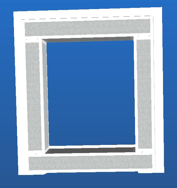 N.2-Encadrement Fenêtre Monobloc 80×95