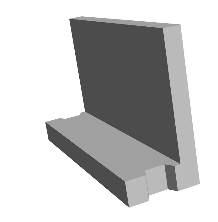 S.1-Mur Déco en L
