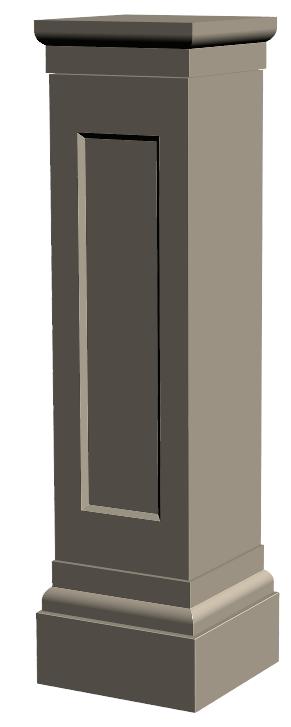 U.5-Pilier 35×35 Ensemble