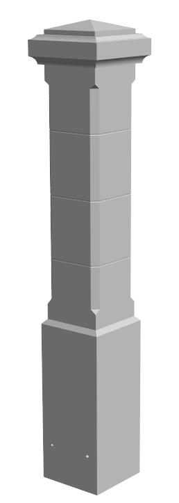 U.6-pilier 40×40 B