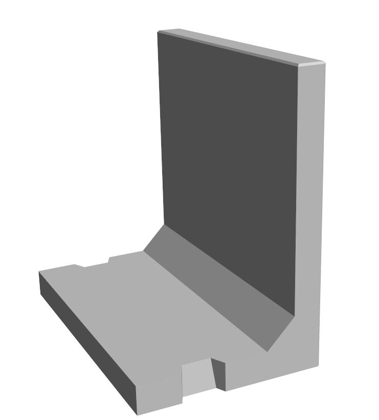 W.1-Réservation clavetage murs en L