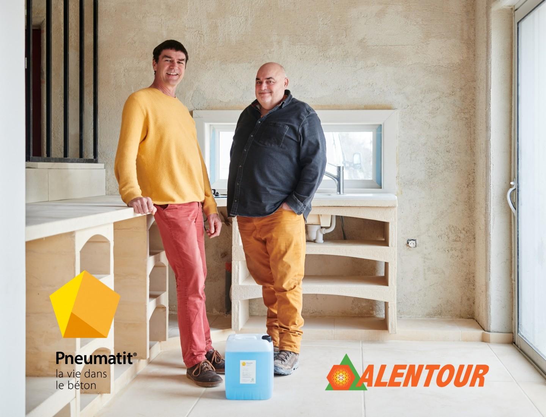 L'entreprise Alentour crée un partenariat avec une marque  suisse : Pneumatit